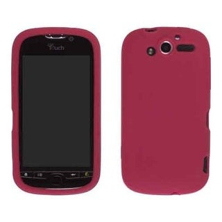 Wireless Solutions Smooth Silicone Gel for HTC myTouch 4G, Red