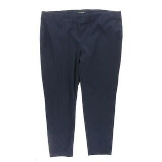 Lauren Ralph Lauren Womens Plus Capri Pants Pleated Comfort Waist - 22W