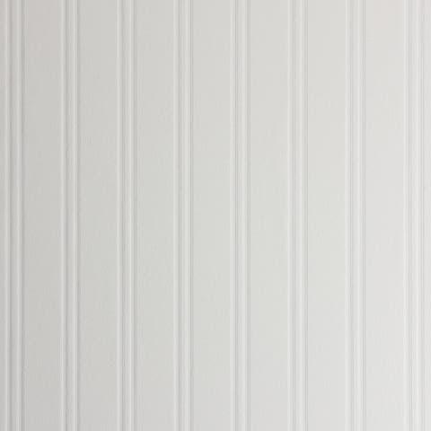 Kingsburg, Wainscoting Wood Panel Paintable Wallpaper