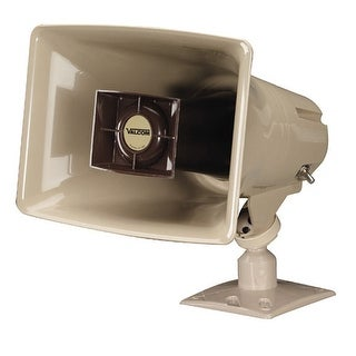 Valcom V-1030C 5-Watt Amplified Horn Megaphone - Beige