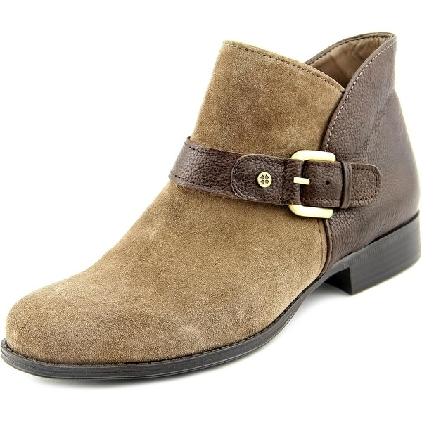 Naturalizer Jarrett Women W Round Toe Suede Ankle Boot