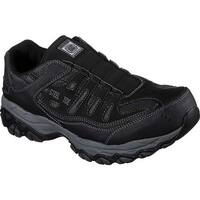 Skechers Men's Work Crankton Ebbitt Steel Toe Shoe Black