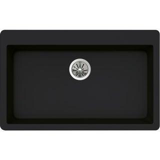 """Elkay ELXR13322 Quartz Luxe 33"""" Single Basin Kitchen Sink for Drop-In Installation"""