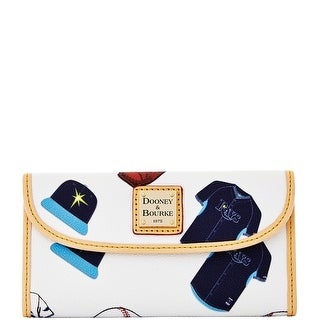 Dooney & Bourke MLB Rays Continental Clutch (Introduced by Dooney & Bourke at $128 in Feb 2014)