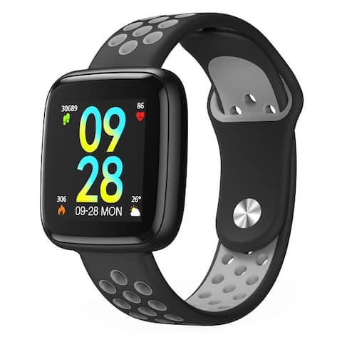DIGGRO Smart Watch, Waterproof Fitness Activity Tracker with Heart Rate Monitor