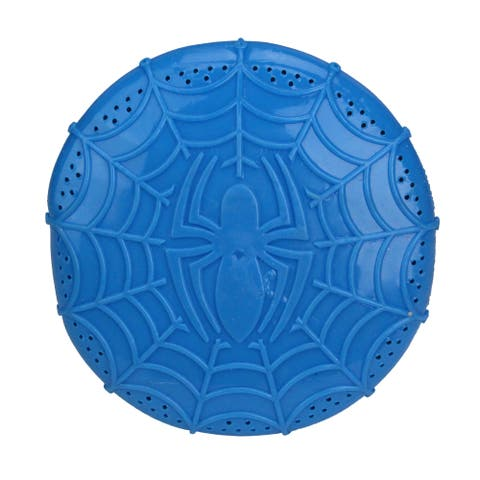 "6"" Blue Marvel Ultimate Spider-Man Web Flyer Throwing Disc Swimming Pool Toy - N/A"