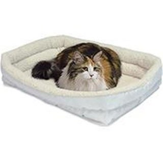 Midwest Container-Beds-Quiet Time Deluxe Double Bolster Bed- White
