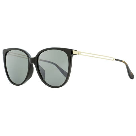 Givenchy GV7116FS 807T4 Womens Black/Gold/Havana 57 mm Sunglasses