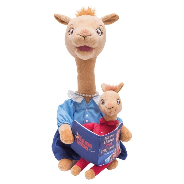 Llama Llama Red Pajama Animated Plush Toy - Mama Llama Sings and Reads Book