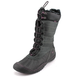 JBU by Jambu Longview Round Toe Canvas Snow Boot