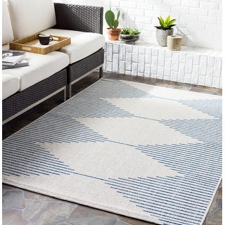 Link to Vivianne Indoor/ Outdoor Modern Area Rug Similar Items in Casual Rugs