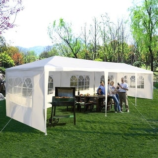 Costway 10'x30' Party Wedding Outdoor Patio Tent Canopy Heavy duty Gazebo Pavilion Event - S