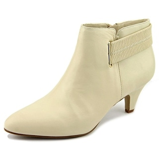 Alfani Vandela Pointed Toe Synthetic Bootie