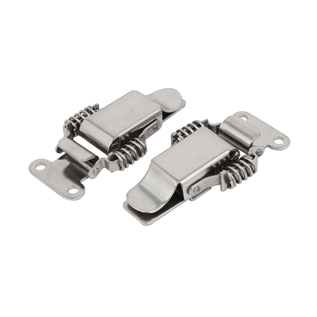 3.7-inch 304 Stainless Steel Straight Loop Catches Toggle Latches 2PCS