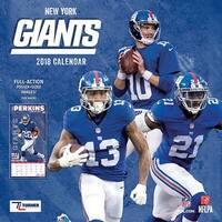 New York Giants Wall Calendar, New York Giants by Turner Licensing