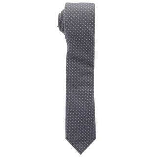 Penguin By Munsingwear Mens Silk Blend Skinny Neck Tie - o/s