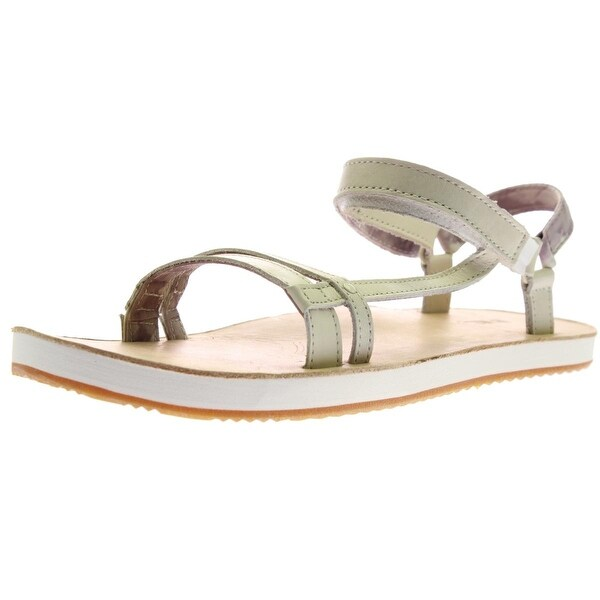 Teva Womens Slim Universal Slingback Sandals Leather Strappy