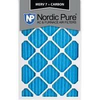 14x24x1 MERV 7 Plus Carbon AC Furnace Air Filters Qty 24