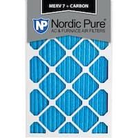 14x24x1 MERV 7 Plus Carbon AC Furnace Air Filters Qty 6