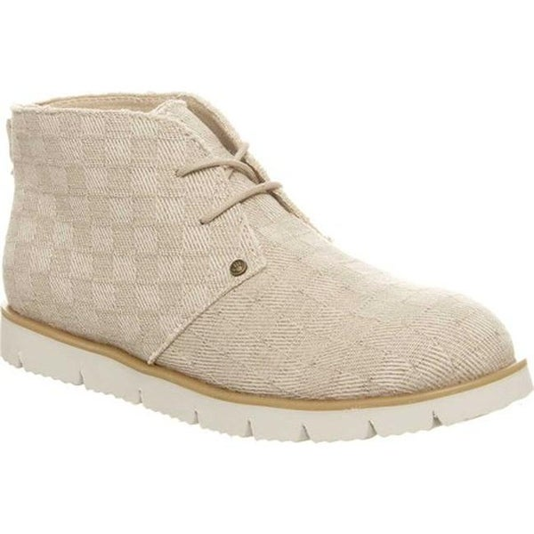 Bearpaw Women's Cher Chukka Boot Natural Canvas