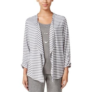 Alfred Dunner Womens Petites Casual Top Striped Layered Look - pl|https://ak1.ostkcdn.com/images/products/is/images/direct/0589cdfcadd2751f79e7be684d4a0fce82e3133d/Alfred-Dunner-Womens-Petites-Casual-Top-Striped-Layered-Look.jpg?impolicy=medium