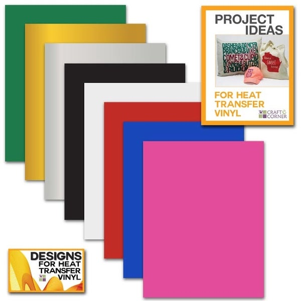 Shop Siser Easyweed Heat Transfer Vinyl Sheets 8 Pack 12x9