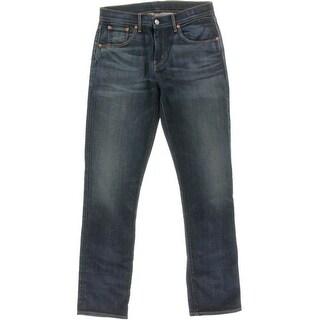Levi's Womens Mid Rise Medium Wash Boyfriend Jeans