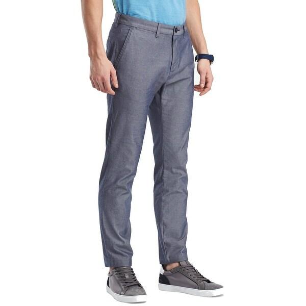 1cad50e9fd Shop Tommy Hilfiger Blue Mens Size 36X30 Slim Khakis Chinos Shorts ...