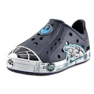 Crocs Bumpit Millenniumfalcon Round Toe Synthetic Clogs (Option: 9)
