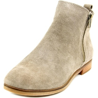 Steve Madden Reyyna Women  Round Toe Suede Gray Ankle Boot