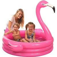 Inflatable Flamingo Kiddie Pool - Multi