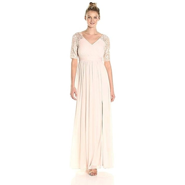 153408c72b5b0b Shop Adrianna Papell Women's Dress Seqin and Tulle Stretch Gown - Free  Shipping Today - Overstock - 28076633