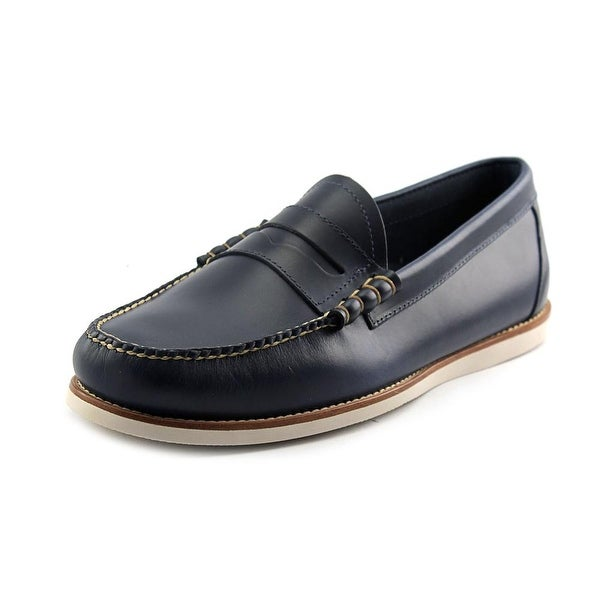 Bass Brogan Round Toe Canvas Loafer