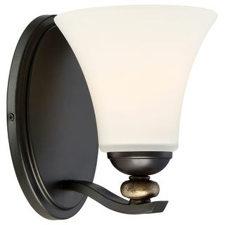 Minka Lavery 2281-589 1 Light Bathroom Sconce from the Shadowglen Collection