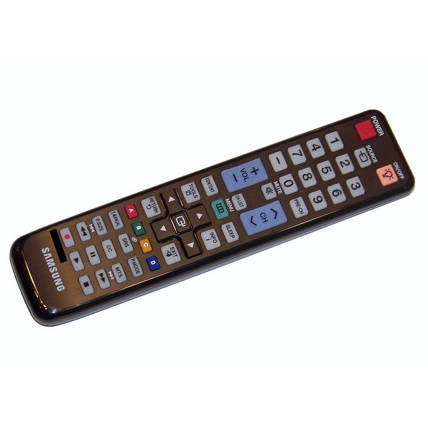 OEM Samsung Remote Control Originally Supplied With: LH55MEPLGA/ZA, ME40A, ME46A, ME55A, UN32D5500RF, UN32D5500RFXZA