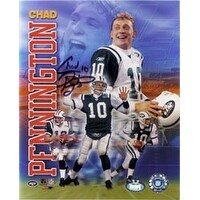 Signed Pennington Chad New York Jets 8x10 autographed