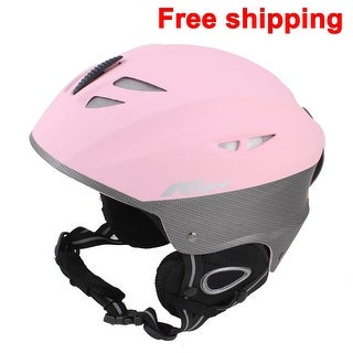 Women Men Skateboard Skiing Racing Bicycle Bike Sports Helmet Size L Matte Pink