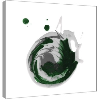 """PTM Images 9-101044  PTM Canvas Collection 12"""" x 12"""" - """"Polished in Pine"""" Giclee Abstract Art Print on Canvas"""