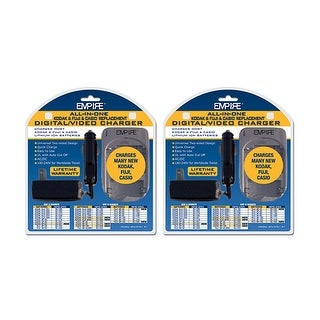 Charger for FUJI DVUKFC1R1 (2-Pack) Replacement Charger