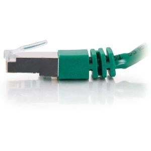 C2g - C2g 7Ft Cat5e Molded Shielded (Stp) Network Patch Cable - Green