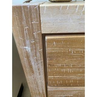 Montauk Solid Wood 2-drawer Nightstand