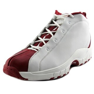 Reebok Playoff Round Toe Leather Basketball Shoe