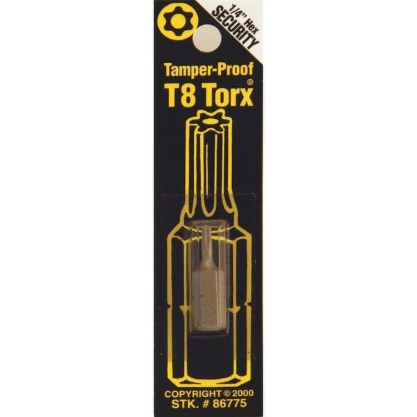 Best Way Tools T8 Tmpr Security Bit
