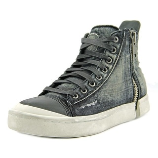 Diesel S-Nentish Men Canvas Black Fashion Sneakers