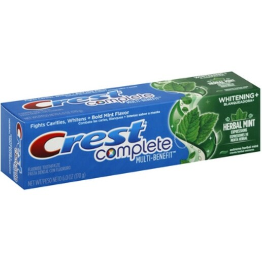 Crest Whitening Expressions Toothpaste, Extreme Herbal Mint 6 oz
