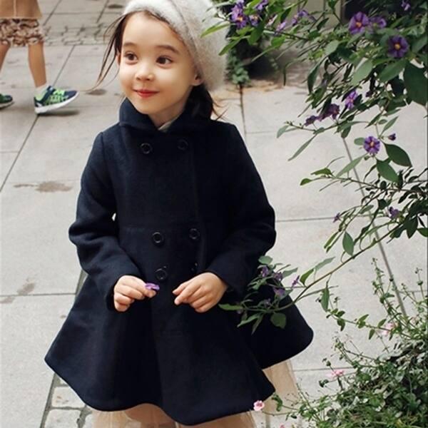 Shop Children Wear Winter Coat High Quality Korean Girls Long Coat Overstock 23169209