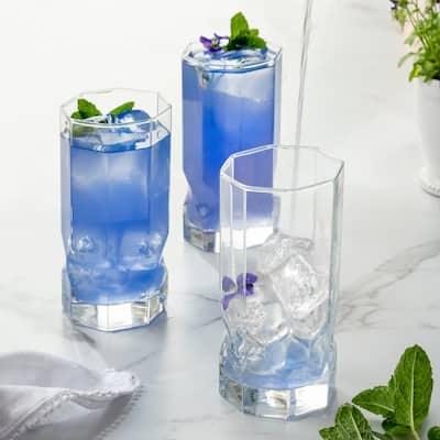 Luminarc 16 Ounce Topaz Cooler Glass, Set of 4