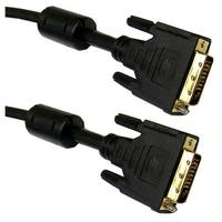Offex DVI-D Dual Link Cable with Ferrite, Black, DVI-D Male, 3 meter (10 foot)