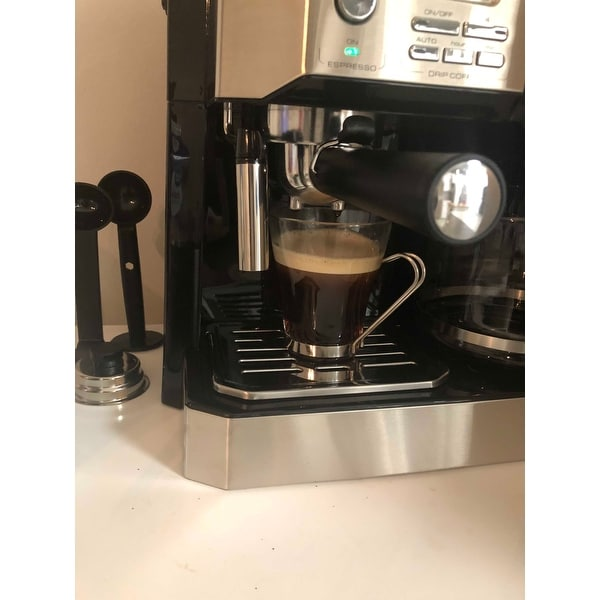 Delonghi Bco430 Combo Coffee And Espresso Machine Free Shipping Today 13095984