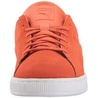 PUMA Men's Suede Classic Embossed Fashion Sneaker - 12